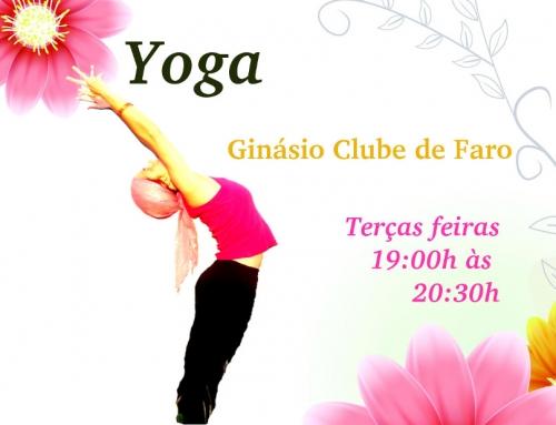 Aulas de Yoga no Ginásio Clube de Faro