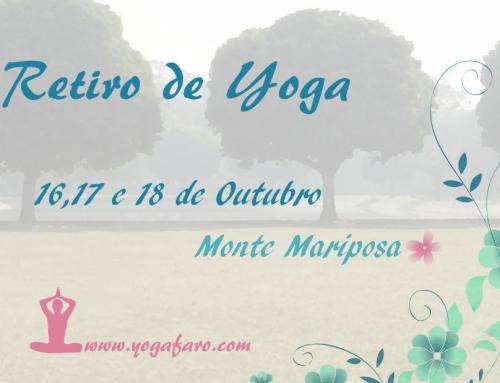 Retiro de Yoga no Algarve – Programa já disponível
