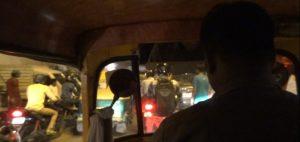 A caminho da estação de comboios de Old Deli